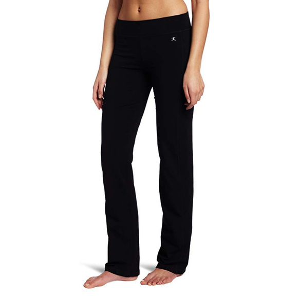 908b0351323e4 Danskin Pants | Womens Sleek Fit Yoga Pant Black Large | Poshmark